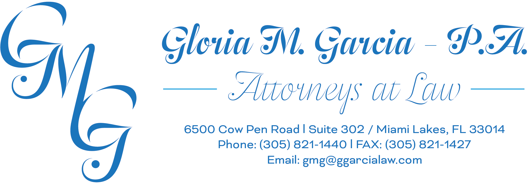 Gloria M. Garcia Law